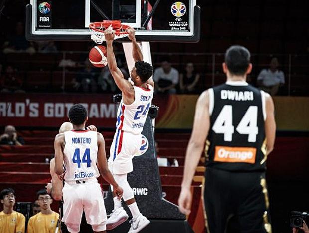 RD venció a Jordania en su debut en el Mundial de Baloncesto Fiba 2019.
