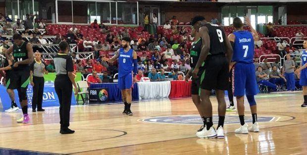 Nigeria supera a República Dominicana en partido de fogueo en Santo Domingo