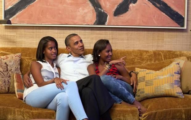 Barack Obama, modelo de paternidad a seguir