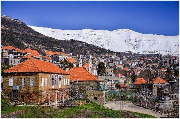 Baskinta es un pueblo libanés ubicado a 43 kilómetros al noreste de Beirut .