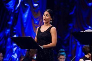 Soprano dominicana Nathalie Peña Comas.