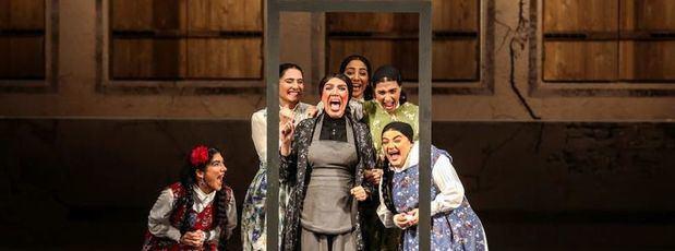 """""""La casa de Bernarda Alba"""", una historia que conecta con la sociedad iraní"""