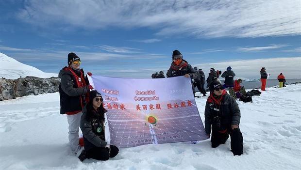 La Gran Muralla, una inesperada parada de líderes científicas en la Antártida