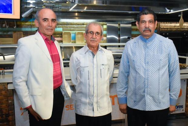 Bismar Galán, Boívar Troncoso y Rafael García Romero.