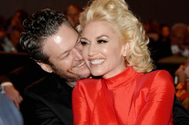 Blake Shelton y Gwen Stefani.