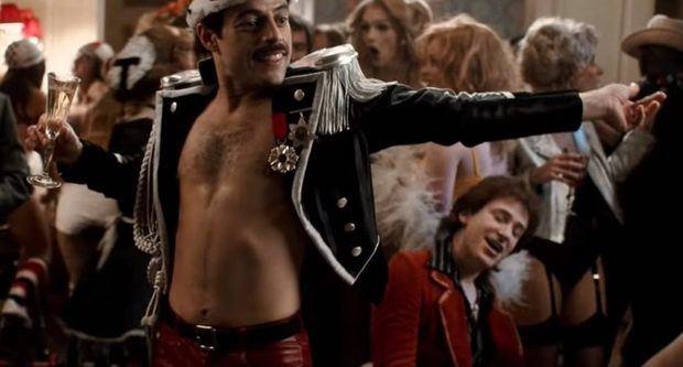 Escena de Bohemian Rhapsody.