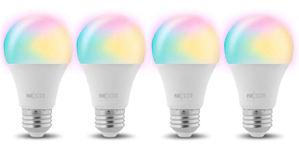 Nexxt Solutions ofrece más de 16 millones de colores en sus focos inteligentes.