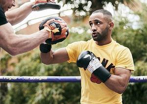 El boxeador dominicano Claudio Marrero enfrentará este sábado al inglés Kid Galahad.