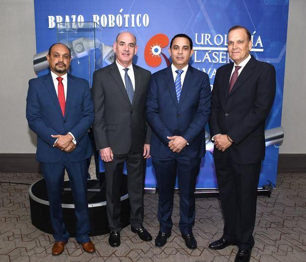 Farconeris Pimentel, Ernesto Gómez, Pablo Mateo y Federico Suero.