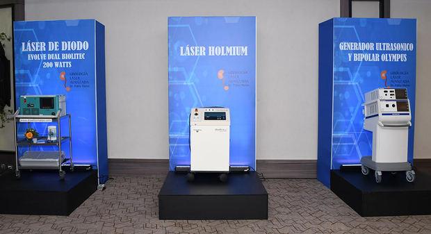 Equipos Láser De Diodo, Generador Ultrasonido y Bipolar Olympus y el Láser Holmium.