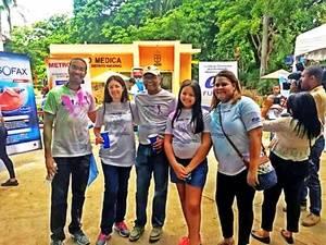 """Fundación Dominicana de Enfermedades Inflamatorias Intestinales celebra caminata""""A todo color"""""""
