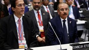 Danilo Medina participa en la COOP25.