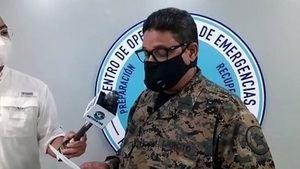 Director del COE, general Juan Manuel Méndez.