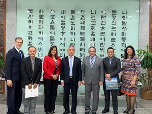 MAP coordina cooperación técnica de Corea con embajador.