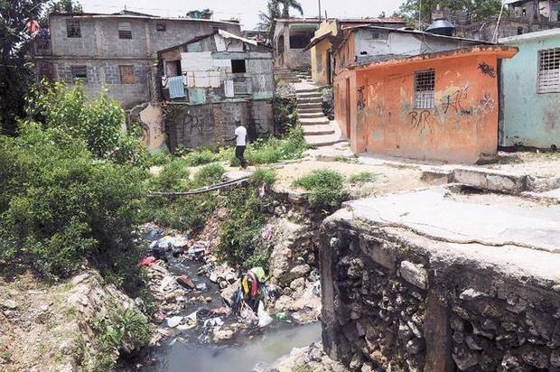 Cañada de Guajimia en el sector de Herrera.