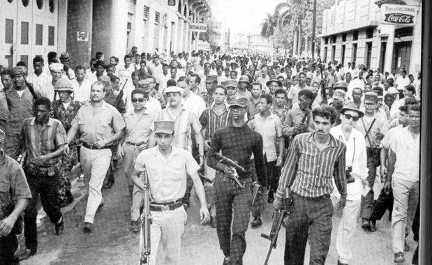 Los dominicanos celebramos un año más de la Revolución de Abril