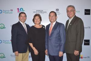 Miguel Escaño, Liliana Khoury, Alberto Santana y Marco Núñez.