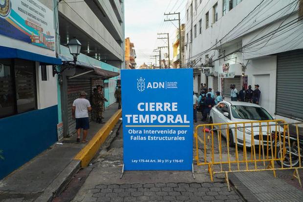 ADN cierra temporalmente parqueo de la José Reyes para preservar vida de ciudadanos