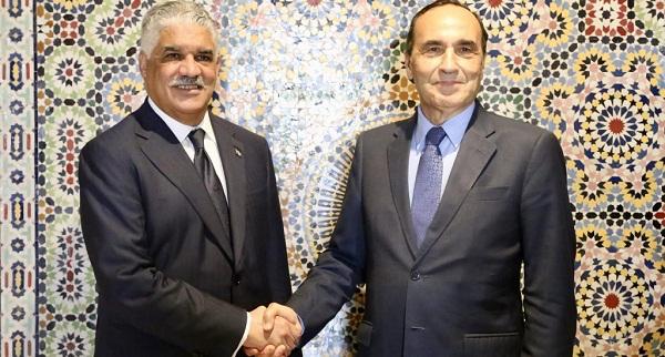 Canciller Vargas se reúne con presidente Cámara Representantes de Marruecos