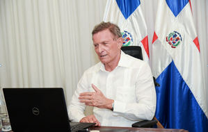 Ministro Relaciones Exteriores de la República Dominicana, Roberto Álvarez.