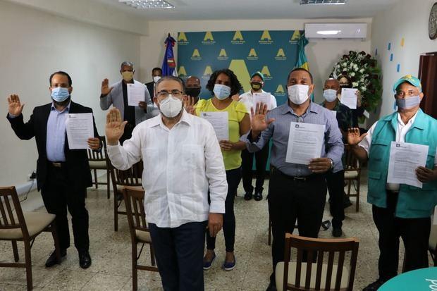 Candidatos Alianza País.