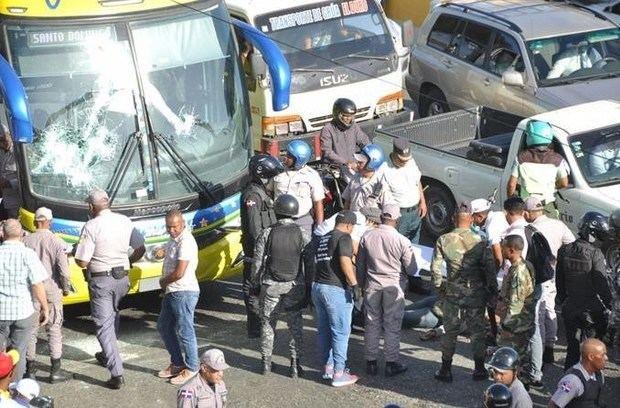 Caribe Tours lamenta incidente fallece joven.