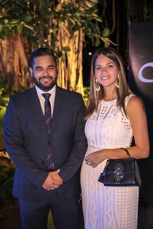 Carlos Paulino y Marielle Parra.