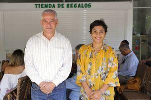 Carlos Suriel y Yurkidia Díaz.