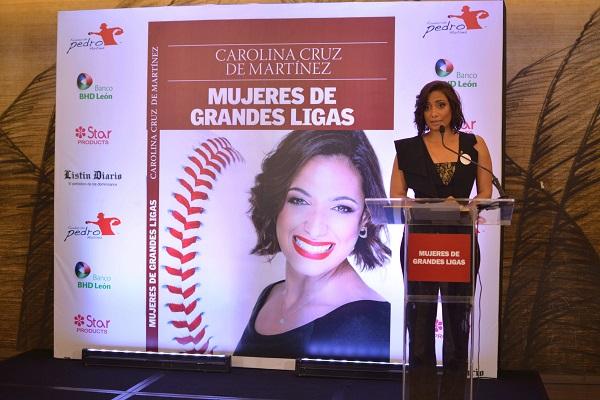 """Lanzamiento del libro """"Mujeres de Grandes Ligas"""" por Carolina Cruz de Martínez"""