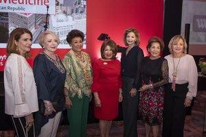 Carolina Perrota, Ivonne Rodriguez, Liliana Llaveria, Melba Nuez, Pamen Yunen, Belkis Palacios y Maricela Thomen.