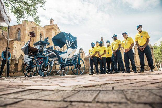 La Ciudad Colonial inicia sustitución de coches a caballos por eléctricos
