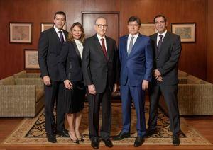 Sebastián Jiménez, Tania M., Práxedes Castillo, Práxedes J. Castillo (hijo) y Luis E. Pimentel.