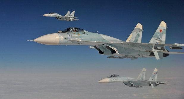 Cazas rusos Su-27 interceptaron hoy a un F-18 de la OTAN que se intentó acercar al avión donde viajaba el ministro del Defensa ruso, Serguéi Shoigú.