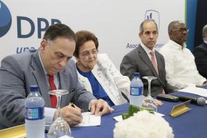 Celso Marranzini Mary Pérez Marranzini Edwin De Los Santos y Alfredo Martínez