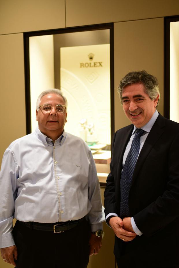 Cesar Pumarol y Ralphy Bensadon.