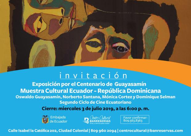 Celebran mes de Ecuador con actividades culturales en el país