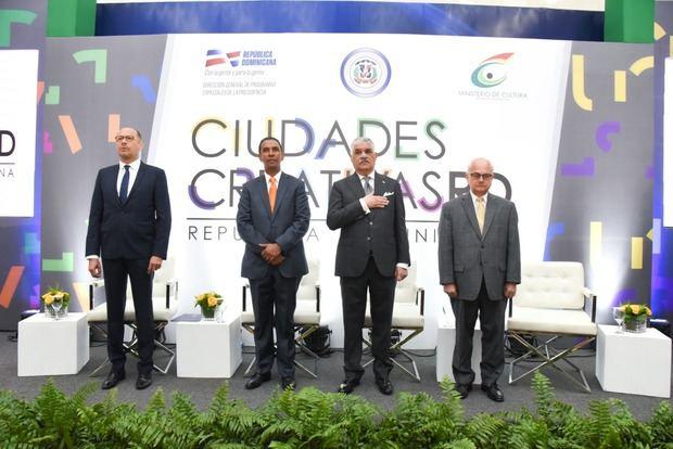 Tres urbes dominicanas aspiran a integrar Red de Ciudades Creativas de Unesco