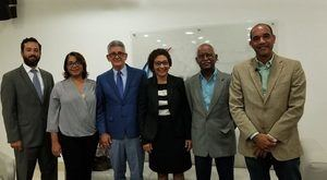 Entre los integrantes que conforman la Coalicíon Democrática figuran José Rijo, María Teresa Cabrera, César Pérez, Olaya Dotel, Manuel Robles y Fernando Henríquez.
