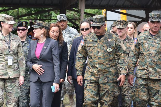Ministerio de Defensa (MIDE), el Comando Sur de los Estados Unidos, y el Centro de Operaciones de Emergencias COE hoy ejercicios de las Fuerzas Aliadas Humanitarias FAHUM-2019.