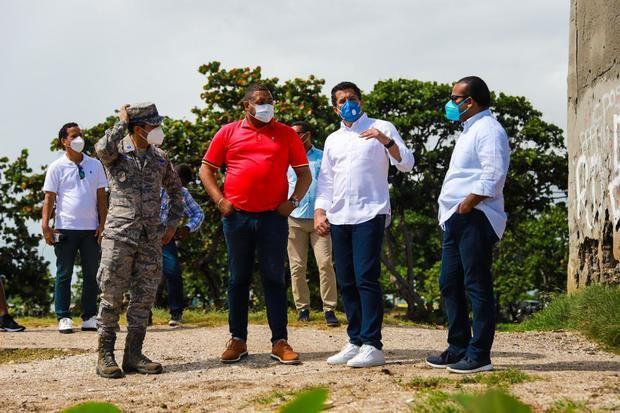 Ministro de Turismo, David Collado, visitó, por segunda ocasión, la provincia de San Pedro de Macorís para supervisar las obras que ejecuta el MITUR.