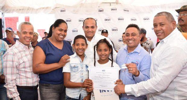 INVI entrega apartamentos del proyecto Villa Progreso La Colonia, Pedernales