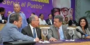 Miembros del Comité Central del Partido de la Liberación Dominicana (PLD).