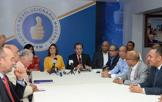 PRM se reúne este domingo para reforma estatutos y reservas de candidaturas