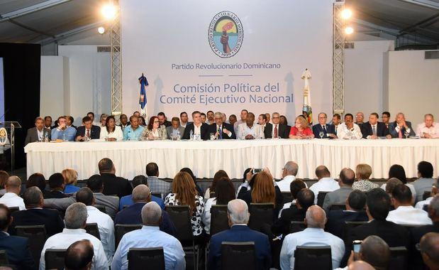 Comisión Política traza ruta del PRD futuro inmediato y aprueba seis resoluciones de forma unitaria