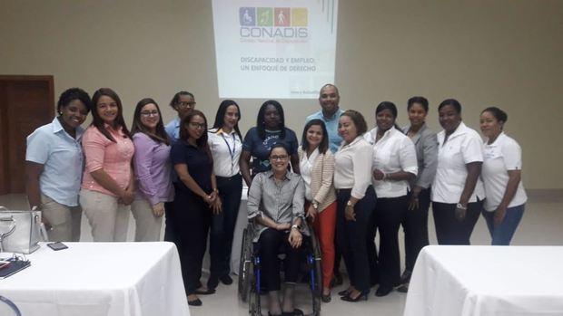 """Participantes en la capacitación sobre """"Inclusión Laboral para Personas con Discapacidad""""."""