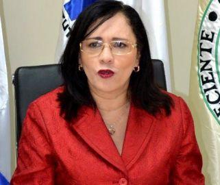 directora del Consejo Nacional de la Persona Envejeciente, Conape, Nathalie María Hernández.