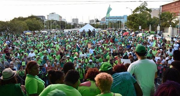 El Torito y Vakeró encabezan concierto Marcha Verde contra la corrupción