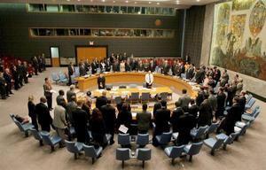 Vista durante una sesión del Consejo de Seguridad de las Naciones Unidas en la sede de las Naciones Unidas, en Nueva York (EE.UU.).