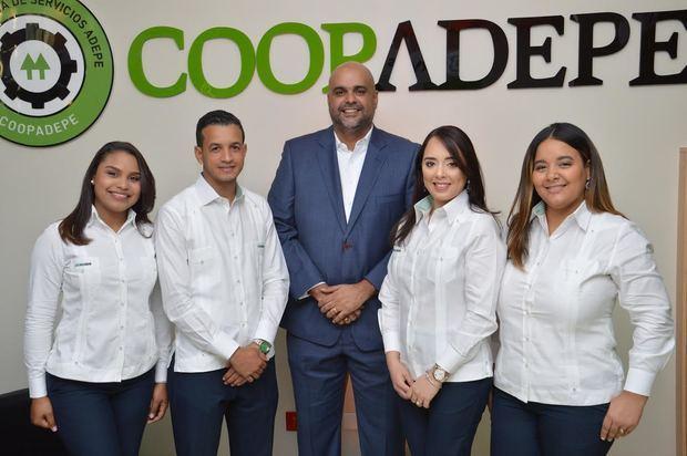 Equipo sucursal Santiago, Cooperativa ADEPE.