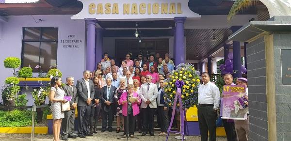 Corriente Institucionalista CIPEL rinde homenaje a Juan Bosch.